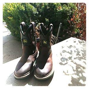Kids John Deere Boots Size 10